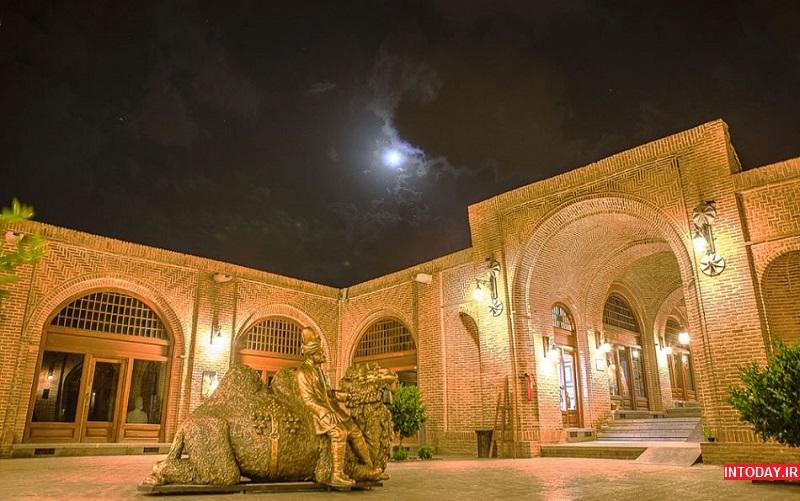 تصاویر کاروانسرای سعدالسلطنه قزوین
