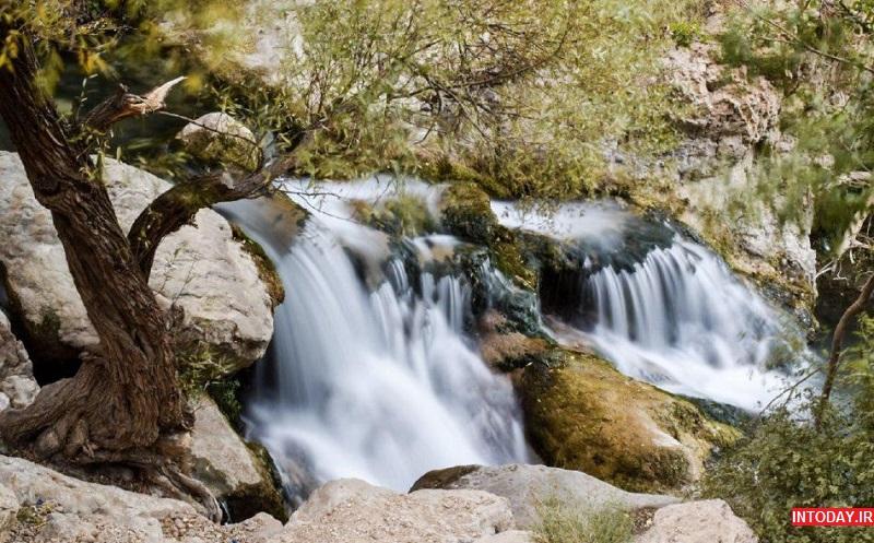 تصاویر آبشار مارگون سپیدان