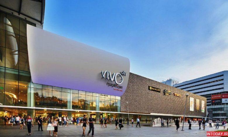 تصاویر مرکز خرید ویوو سیتی سنگاپور