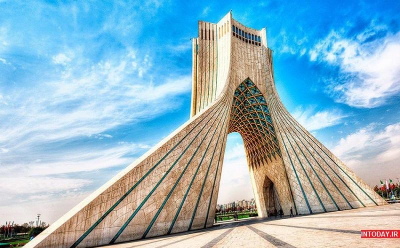 تصویر از برج آزادی تهران کجاست؟