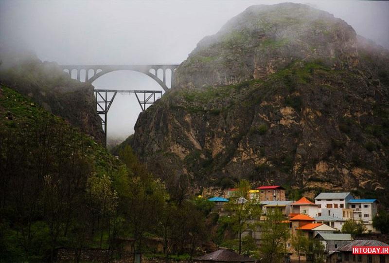 تصاویر پل ورسک سوادکوه فیروزکوه مازندران