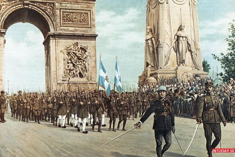 تصاویر طاق پیروزی پاریس فرانسه