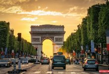 تصویر از طاق پیروزی پاریس