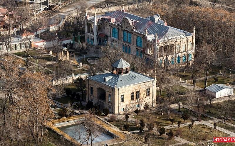 تصاویر کاخ موزه باغچه جوق ماکو