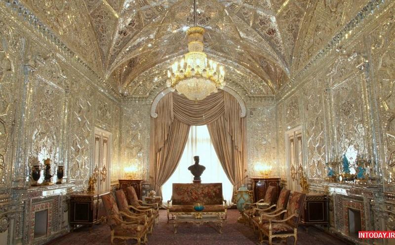 تصاویر کاخ سبز تهران