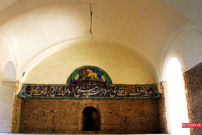 تصاویر عمارت مسعودیه تهران