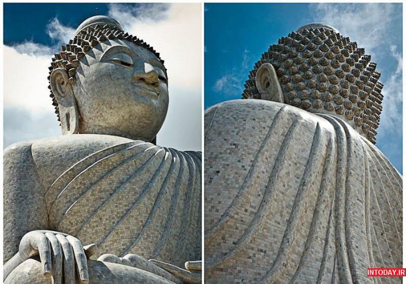 عکس مجسمه بودای بزرگ پوکت