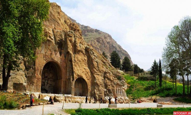 تصاویر طاق بستان کرمانشاه