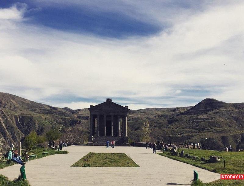 تصاویر معبد گارنی ارمنستان