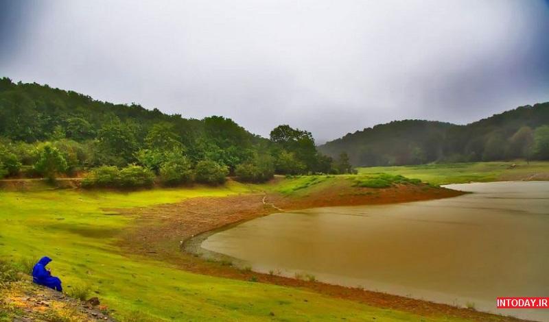 تصاویر دریاچه سقالکسار گیلان