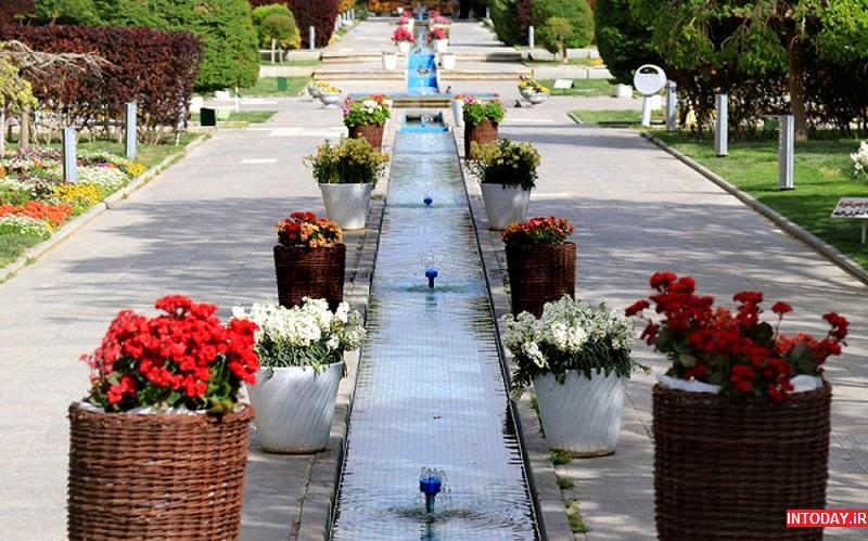 تصاویر باغ گل های اصفهان