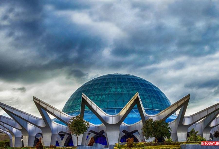 تصاویر آسمان نمای گنبد مینا تهران