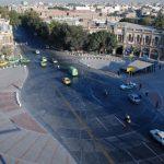 تصاویر میدان حسن آباد تهران