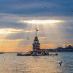 عکس برج دختر استانبول