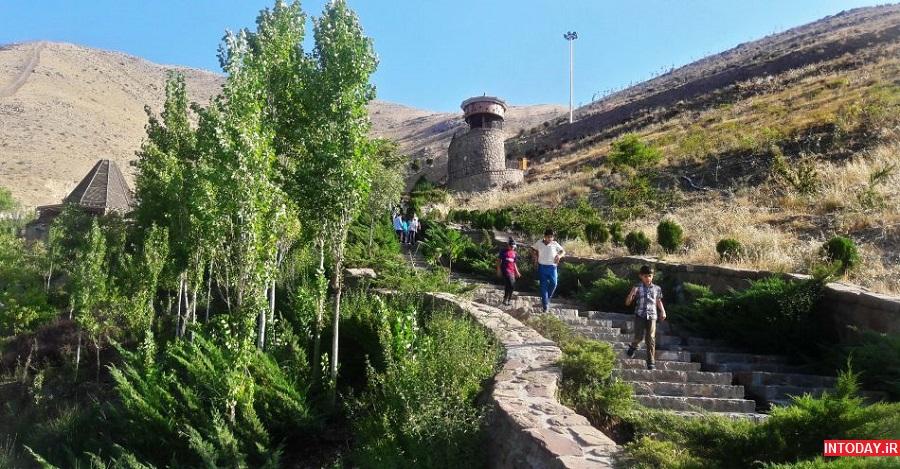 تصاویر پارک آبشار تهران
