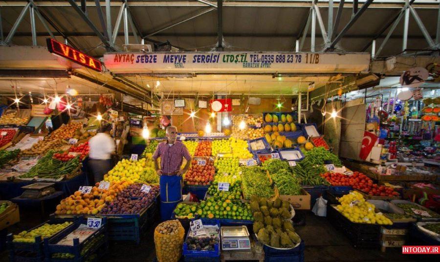تصاویر بازارهای محلی استانبول