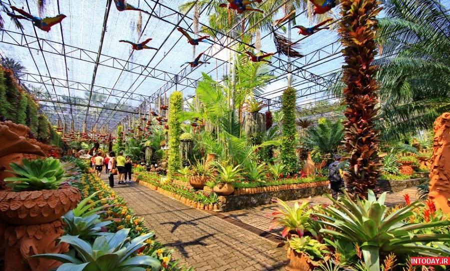 عکس باغ گیاه شناسی نانگ نوچ پاتایا