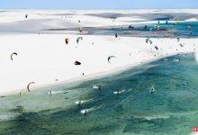 تصویر از پارک ملی لینسویز ماراینسیز برزیل مرز صحرا و دریا