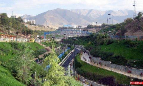 تصاویر پارک های غرب تهران