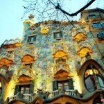 عکس خانه استخوانی بارسلونا