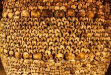 تصویر از دخمه مردگان پاریس