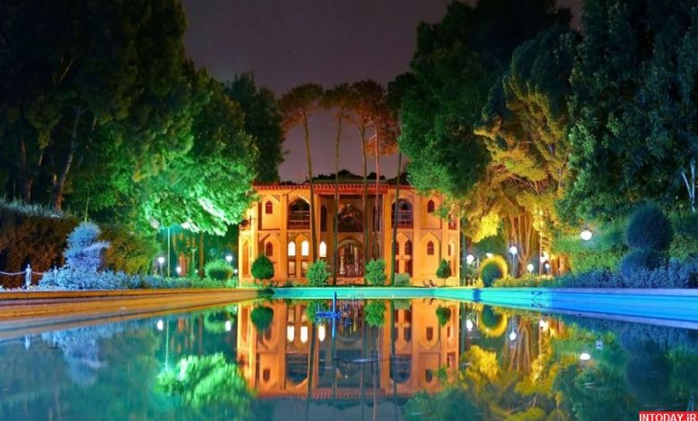 عکس کاخ هشت بهشت اصفهان