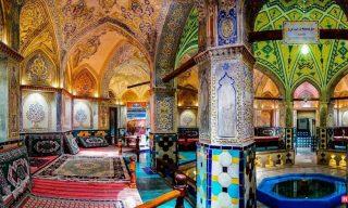 عکس حمام سلطان امیر احمد کاشان