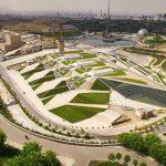 عکس باغ کتاب تهران