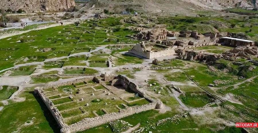عکس شهر بیشاپور استان فارس