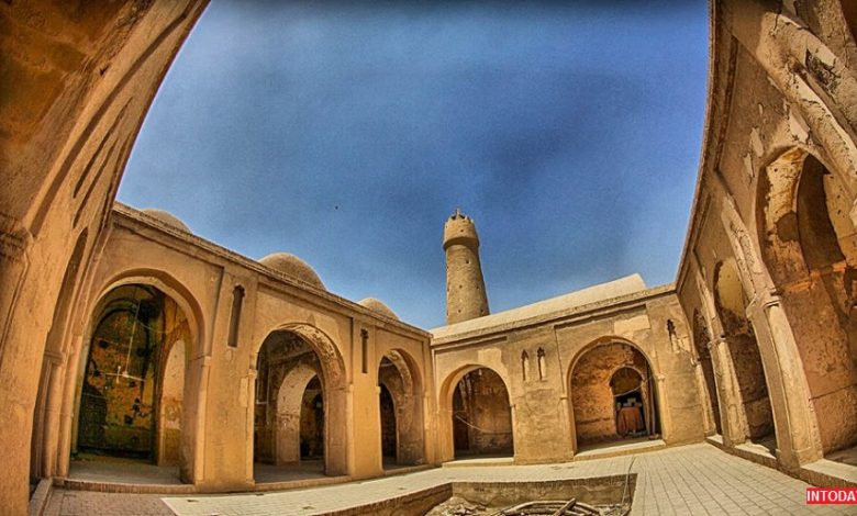 عکس مسجد جامع فهرج