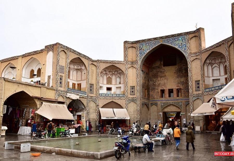 عکس سردر قیصریه اصفهان