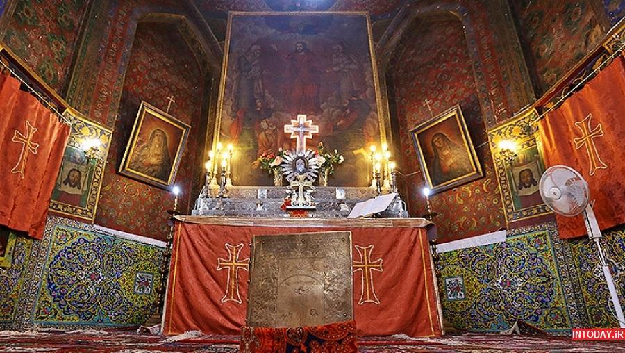 عکس کلیسای میناس مقدس اصفهان