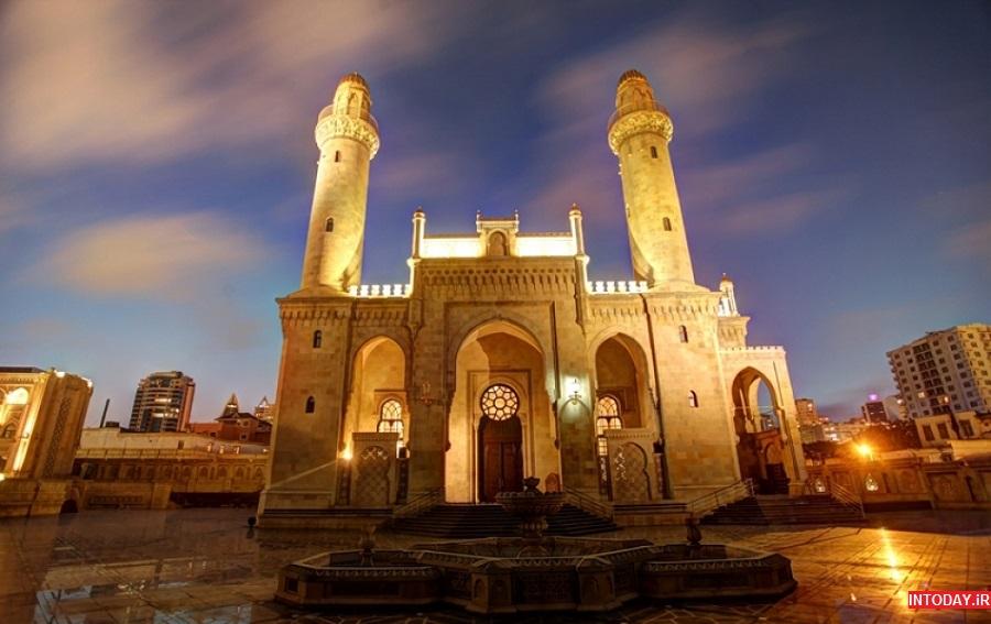 تصاویر مسجد تازه پیر باکو