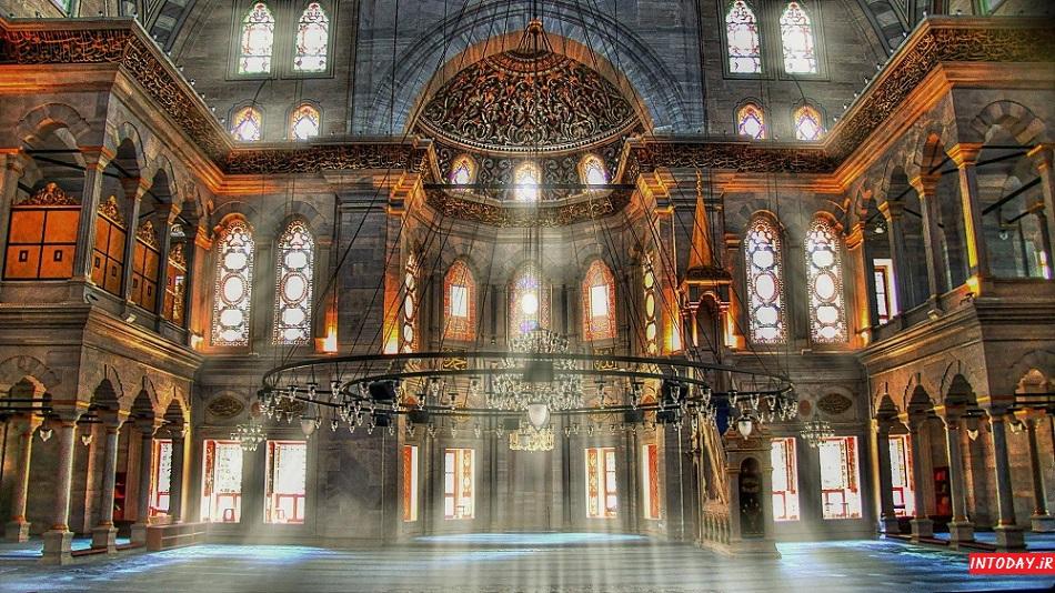 مسجد نور عثمانیه استانبول