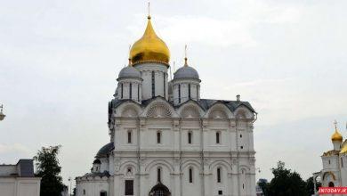 تصویر از کلیسای جامع آرچ انجل مسکو رنسانس ایتالیایی در قلب روسیه