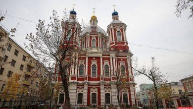تصویر از کلیسای سنت کلمنت روسیه تنها کلیسای ارتدکس مسکو