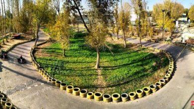 تصویر از باغ جوان اصفهان