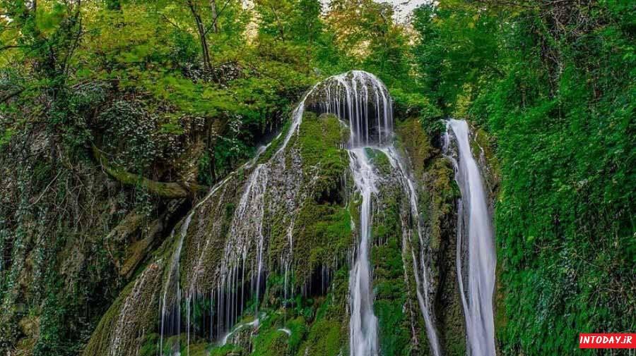 آبشار کبودوال علی اباد کتول