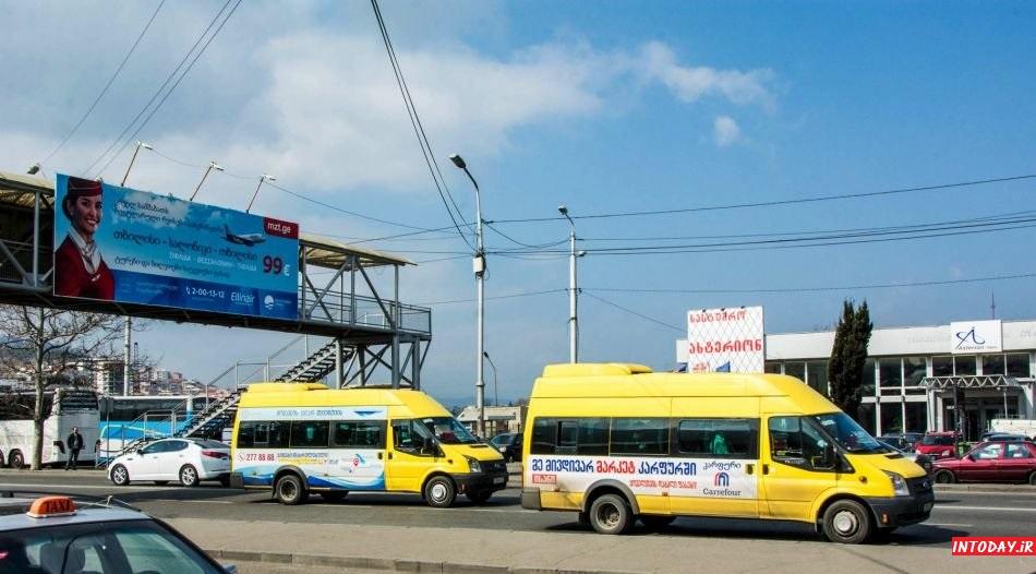 راهنمای حمل و نقل در تفلیس