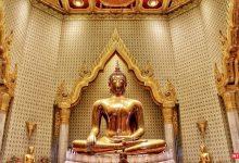 تصویر از معبد بودای طلایی بانکوک