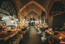 تصویر از بازار سنتی اردبیل یا قیصریه با راهنما