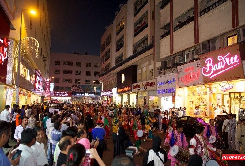 بازار هندی های دبی یا مینا بازار