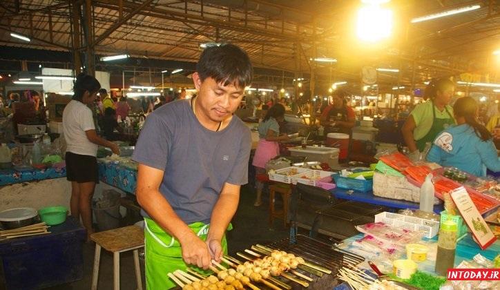 بازارچه شبانه تپراسیت پاتایا