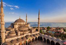 تصویر از مسجد سلطان احمد استانبول