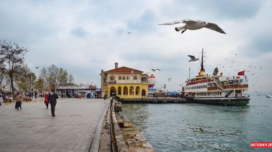 هزینه تورهای کشتی تنگه بسفر استانبول