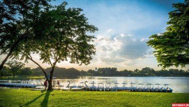 پارک سوان لوآنگ راما نهم بانکوک