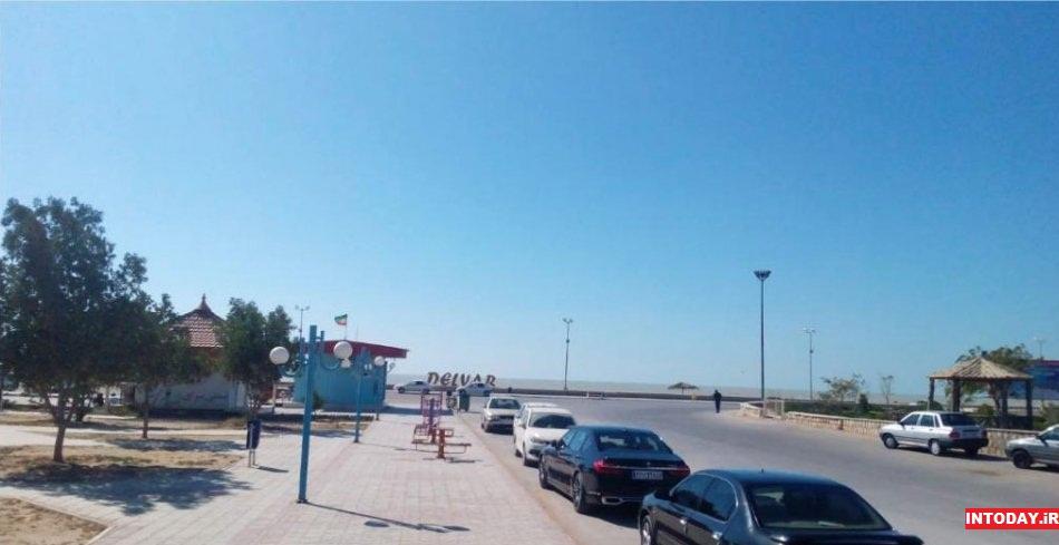 پارک ساحلی دلوار بوشهر