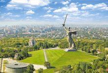 تصویر از تندیس سرزمین مادری روسیه یا مامایف | معرفی و راهنما