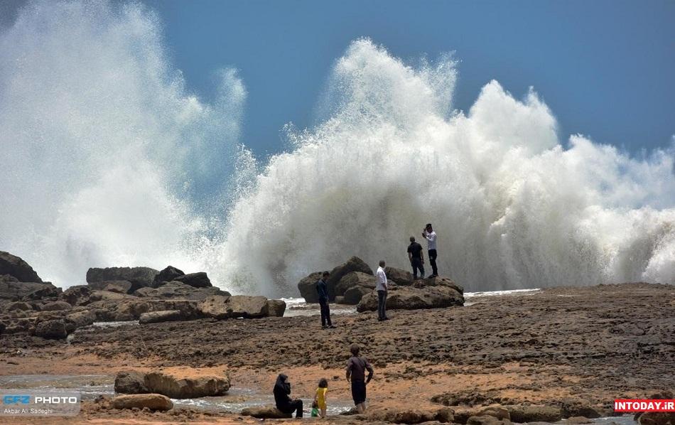 ساحل موج فشان چابهار