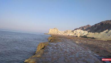 عکس ساحل مفنق هرمز